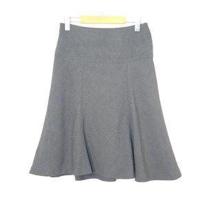 RW&Co   Gray Tulip Flare Classic Skirt Stretch 2